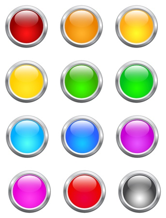shiny buttons: Shiny Buttons Collection For Computer Or Website Use