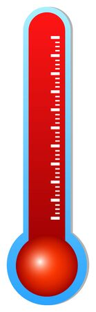 Illustration Of Medical Thermometer Vector