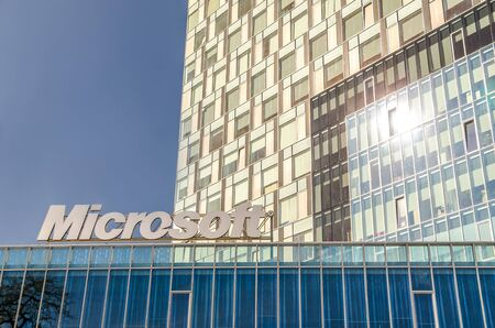 Microsoft Headquarters In Bucharest, Romania. Stock Photo - 18740094