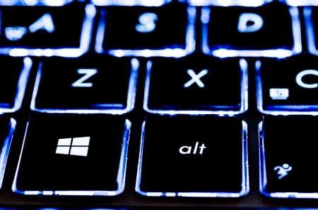 microsoft: Microsoft Illuminated Notebook Keyboard With New Windows 8 Logo