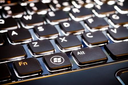 microsoft: Microsoft Illuminated Notebook Keyboard With New Windows 8 Logo