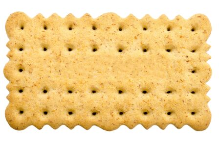Tea Biscuit Isolated On White Stock Photo - 18762610