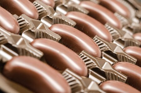 Closeup Photo Of Various Chocolate Candies Stock Photo - 18762514