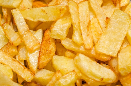 Closeup Photo Of Fresh French Fries Stock Photo - 18762584