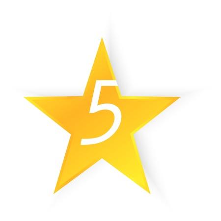 Five Star Quality Illustration