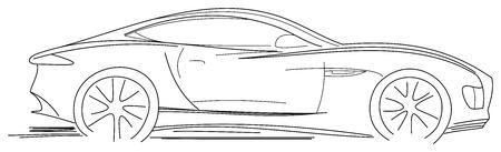 Sport Auto Sketch