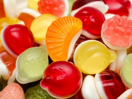 Sweet Fruit Jelly Background photo