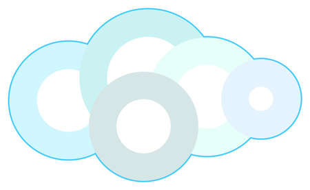 Cloud Technology Concept Illustration Stock Vector - 19452547