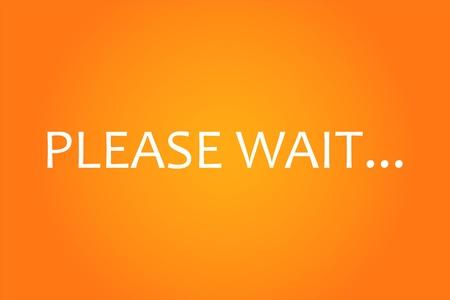 paciencia: Espere la pantalla debe
