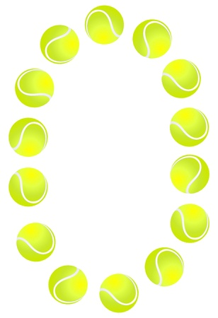 numerous: Tennis Ball Number 0