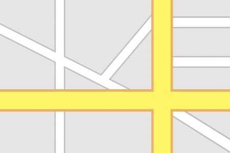 route map: Road Intersection Map