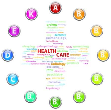 palliative: Health Care Cloud Concept