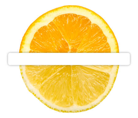 Half Orange Half Lemon photo