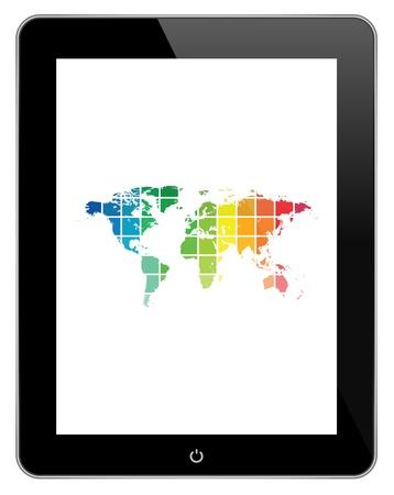 Media Technology Worldwide Stock Vector - 20184107