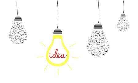 Brilliant Idea Concept Stock Vector - 20621981