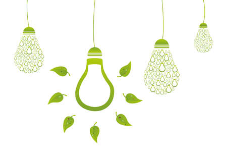 environment friendly: Environment Friendly Energy Illustration