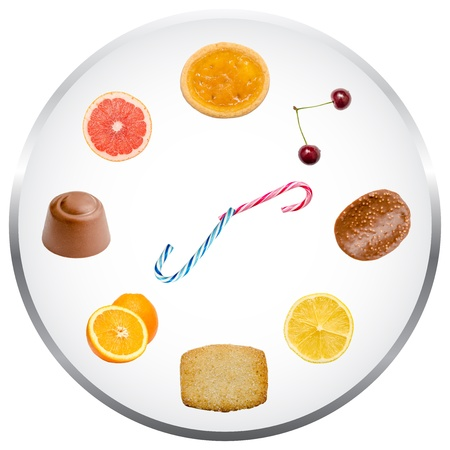 starve: Nutrition Clock Concept