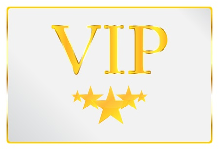 vip badge: Very Important Person Card