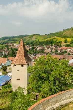 biertan: Medieval Mountain Town In Transylvania, Romania