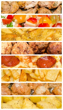 Delicious Food Collage photo