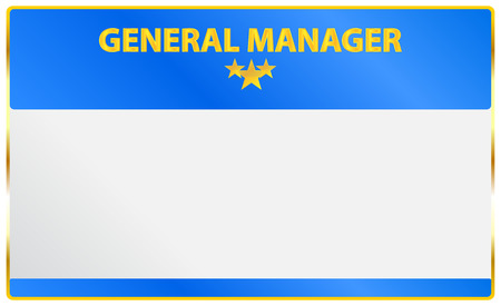general manager: General Manager Card