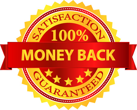 money back: Money Back Satisfaction Guaranteed Badge