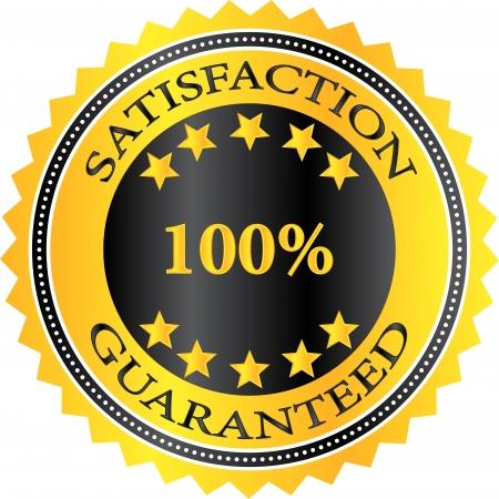 Premium Quality Product Satisfaction Guaranteed Badge Vector