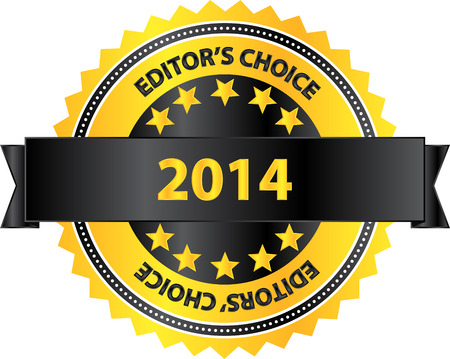 Editors Choice Product Of Year 2014 Vector