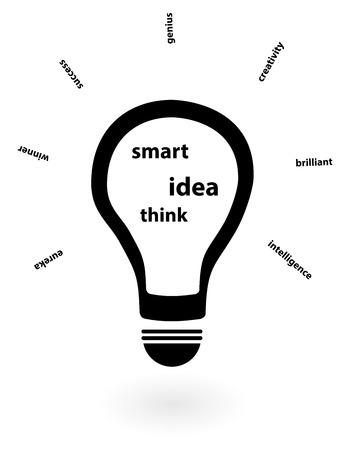 fresh idea: Success In Business With An Innovative Fresh Idea Insight Illustration