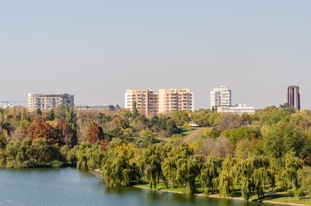 Tineretului Park in Bucharest , Romania