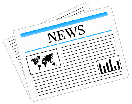Daily News Newspaper Press Stock Vector - 23886021