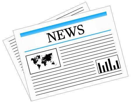 Daily News Newspaper Press Stock Vector - 23886021