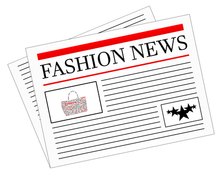 fashion story: Fashion News Newspaper Headline Front Page