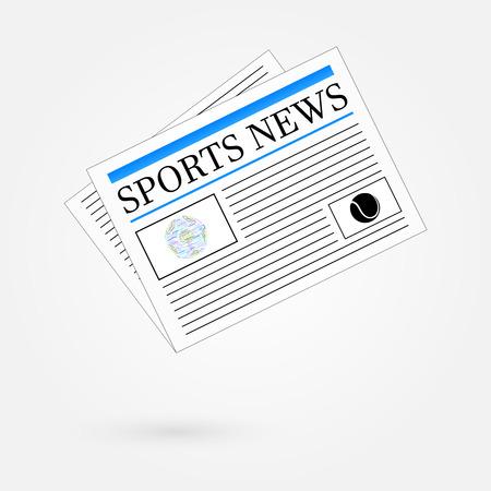newspaper headline: Sports News Newspaper Headline Front Page