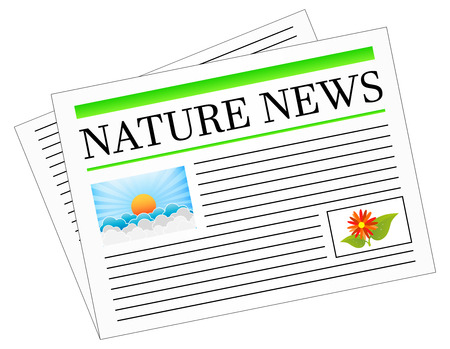 newspaper headline: Nature News Newspaper Headline