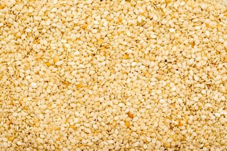 Sesame Seeds Closeup Details