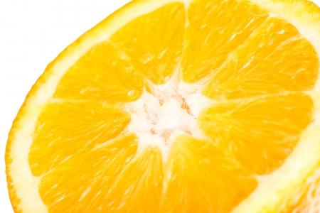 orange slice: Orange Slice Close Up Details