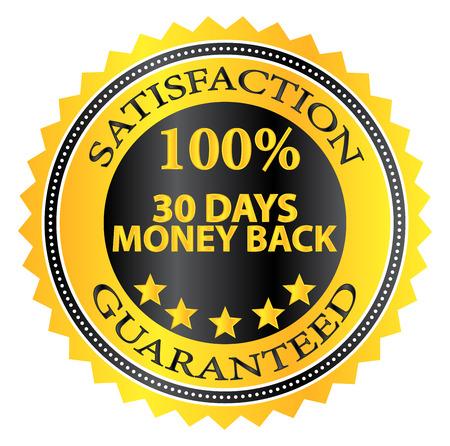 30 dagen geld terug garantie Badge