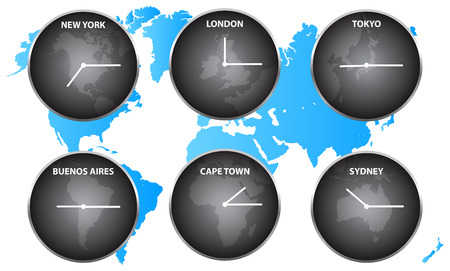 time zones: Time Zones Around The World
