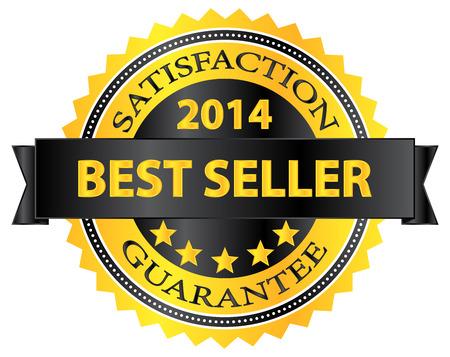 best seller: Best Seller Five Stars Goldene Auszeichnung 2014
