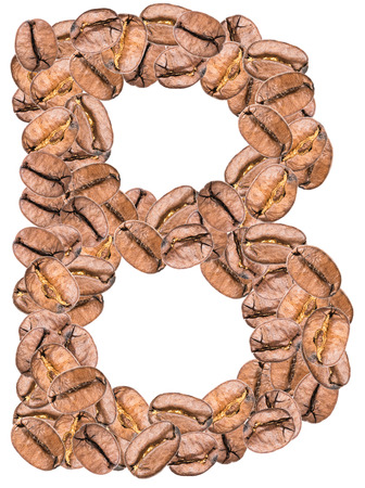 alphabet lettre: Caf� Alphabet Lettre B