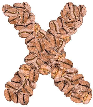 alphabet lettre: Caf� Alphabet Lettre X