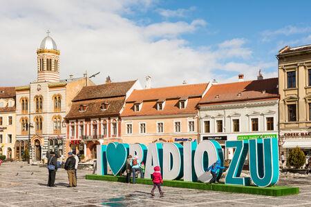 listened: BRASOV, ROMANIA - FEBRUARY 09  Radio Zu Advertising on February 09, 2014 in Brasov, Romania  Started in 2008, Radio Zu is one of the first three listened radio stations in Romania