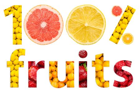 One Hundred Percent Fruits photo