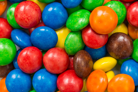 Colorful Candy Close Up photo