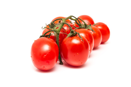Fresh Wet Red Tomatoes photo