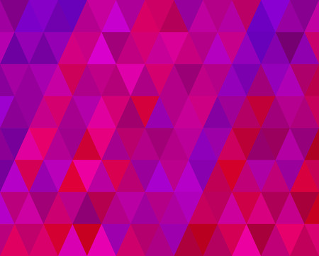 Retro Red And Purple Mosaic Abstract Background Vector
