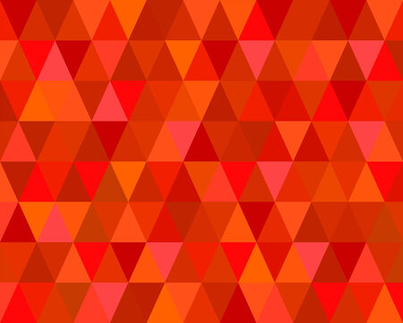 Red Mosaic Tiles Abstract Background Vector Vector