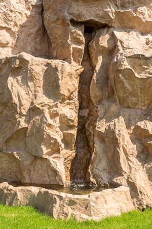 bourn: Small Creek On Rocky Mountain Stock Photo