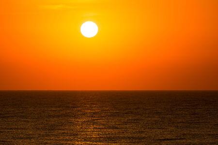 Morning Sunrise Sky Over The Ocean photo